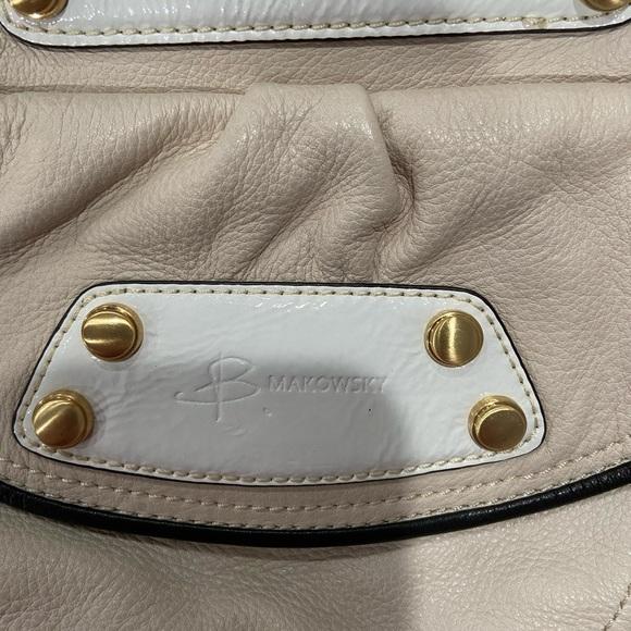 b. makowsky Handbags - Authentic B Makowsky Leather Shoulder Bag